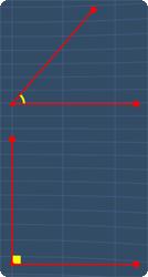 acute angle and right angle