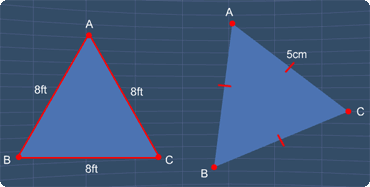 examples of equilateral triangles