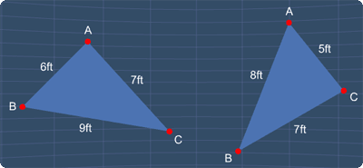 examples of scalene triangles