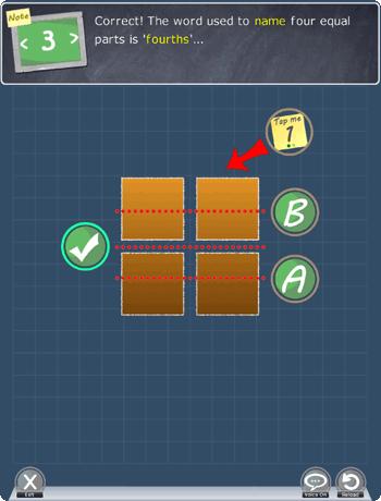 Understanding fractions app Picture 2