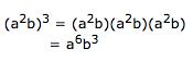 a^6 b^3