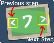 navigate steps