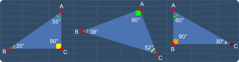 examples of right triangles