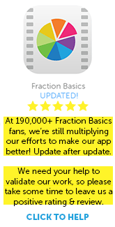 Download Fraction Basics App