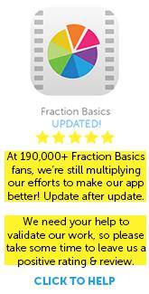 Download Fraction Basics App